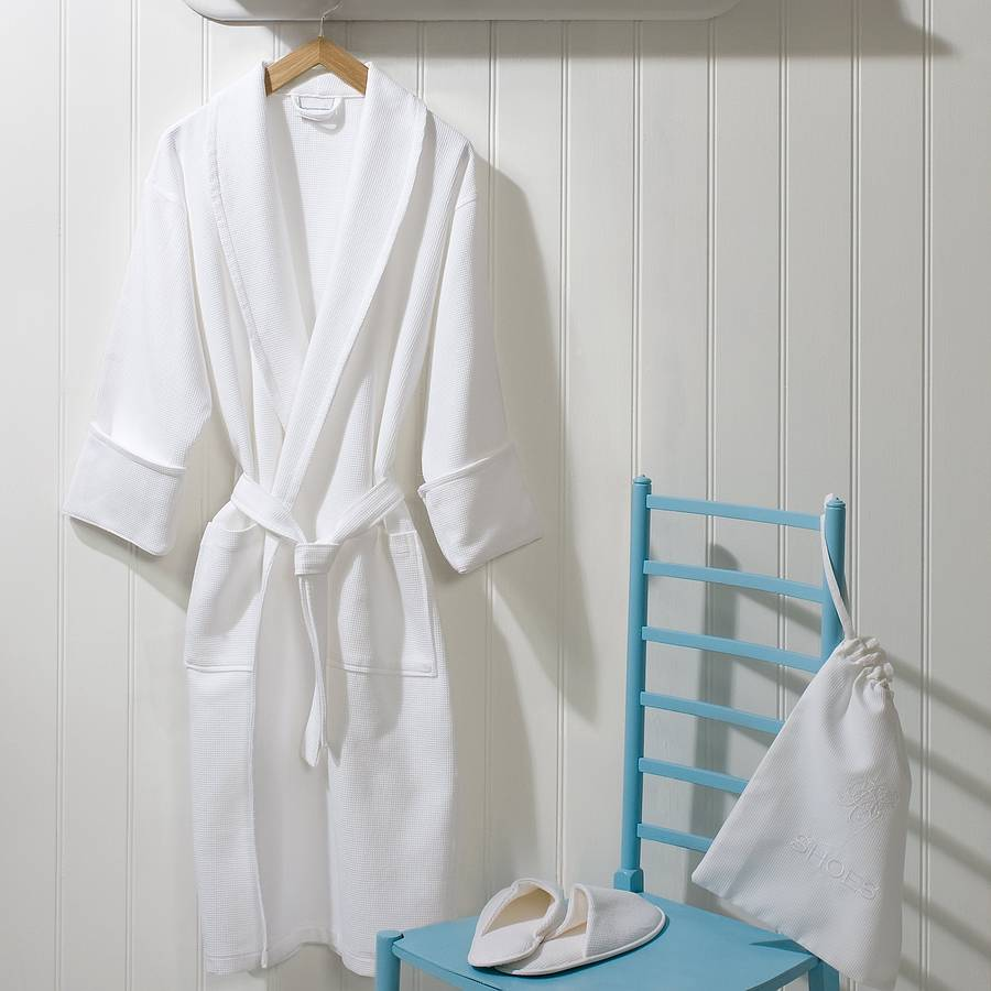 Bath Gown & Bathroom Slippers | Hotel Textile Products Suppliers ...