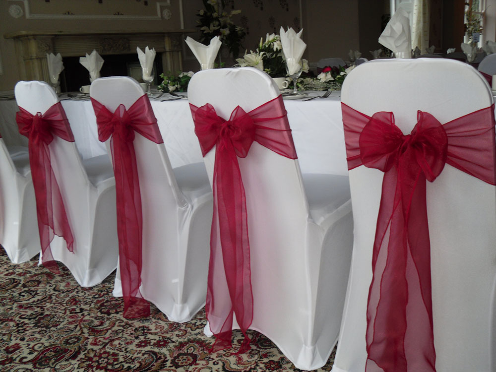 Chair Cover And Sash Hotel Textile Products Suppliers